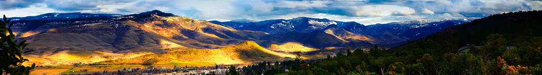Ashland, Oregon, Panorama